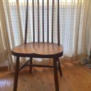 シェーカースタイルの椅子三脚