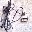 アマチュア無線カーアンテナ取り付け台、M型コネクタ