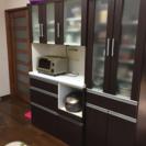 食器棚二つセット 商談中の画像