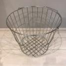 【美品】無印良品 ステンレスランドリーバスケット・小の画像