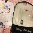 【値下げ】新郎ウェディングタキシードセット