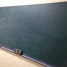 黒板と長さ机