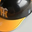 ストラップ付きヘルメット型ラジオ
