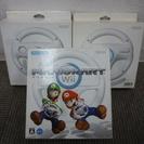 任天堂 Wii ハンドル 3点セット差し上げます。おまけ付き♪♪...