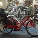 新車ブリヂストン子供乗せ電動自転車 ハイディ ツー レッド HY6C38