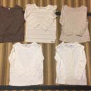 90〜95 長袖Tシャツ 5枚まとめて 値下げ交渉OK!