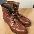 メンズブーツ 茶色 サイズ:スニーカーサイズで26-27