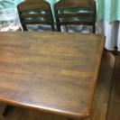 テーブル+イス4脚⑧