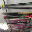 スキーのストックを500円で販売しています