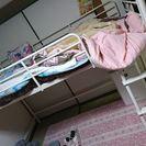 かわいい白いベッド♥♥♥