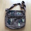 布カバン★中古 マレーシアで購入した布のバッグです。