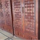 豪華■韓国人間文化財製作保証書付[洋服箪笥]◆三棹set★輸入品