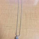 天然石モリオン(黒水晶)一粒ネックレス   未使用品 最終値下げ