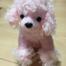 ピンクのわんちゃん♡