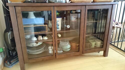 無印良品 ローボード 食器棚の画像