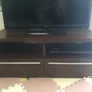 日本製 収納付きテレビボード