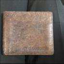 カンガルーの革財布