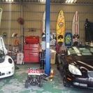 自動車修理、カスタム、タイミングベルト交換、車検など。