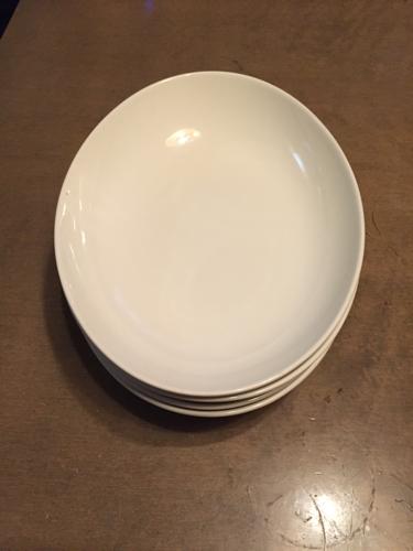 無印良品カレー皿の画像