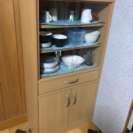 無料⭐️食器棚⭐️譲ります