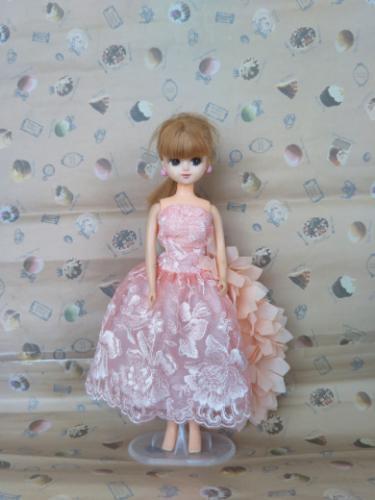 リカちゃん手作りドレス (osamu) 帯広のその他の中古あげます