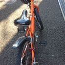 さしあげます。子供用自転車22インチ。
