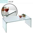 ガラスクリアローテーブル