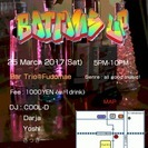 3/25 International music party ダン...