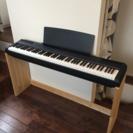 ヤマハ 電子ピアノ P 105  ブラック 美品 2014年製