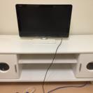 ホワイトのテレビボード