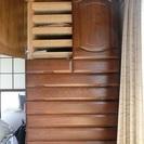 家具4点 【無料】  和箪笥(タンス) 洋箪笥 食器棚 ドレッサー...