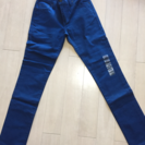 super skinny levi's ブルー 27x30