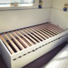 イケヤのFLAXA SSサイズベッドフレーム!追加用ベッドもあり!