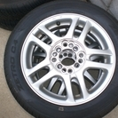 14インチ4穴マルチアルミホイール4本セット タイヤ2か月のみ使用...