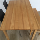 値下げ☆無印良品 ダイニングセット ベンチ付き テーブル140cm - さいたま市