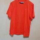 NIKE FIT DRY メンズLサイズ オレンジ色のTシャツ
