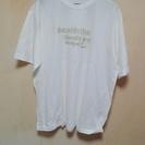 ほぼ未使用白とカーキのクロコダイルLL Tシャツ