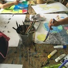 楽しく描く中央市の絵画教室「パレットおえかき教室」