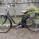 黒】パナソニック電動自転車