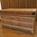 値下げしました❣️古い木箱!!使い方色々!!