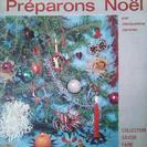 インポート祭 洋書アンティーク本 Préparons Noël