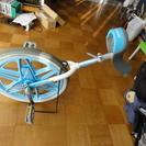 ブリジストン製一輪車18インチ スタンド付き