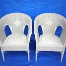 [ご成約ありがとうございます] ★無料・お譲りします★白籐椅子2...