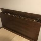 無印良品 セミダブル収納ベッド+ヘッドボード - 家具