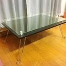 【販売終了】♡格安ガラスのテーブル♡オシャレインテリア♡