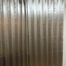 幅100×丈225カーテン2枚組【開封済、未使用】