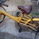 自転車引き取って下さい。