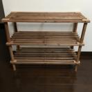 木製 軽量ラック 棚 収納 アジアン レトロ
