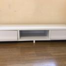 価格相談致します。部屋を広く見せる 真っ白なテレビボード