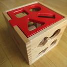 大幅値下げ!【ほぼ新品】木製型はめおもちゃ ドロップインザボック...